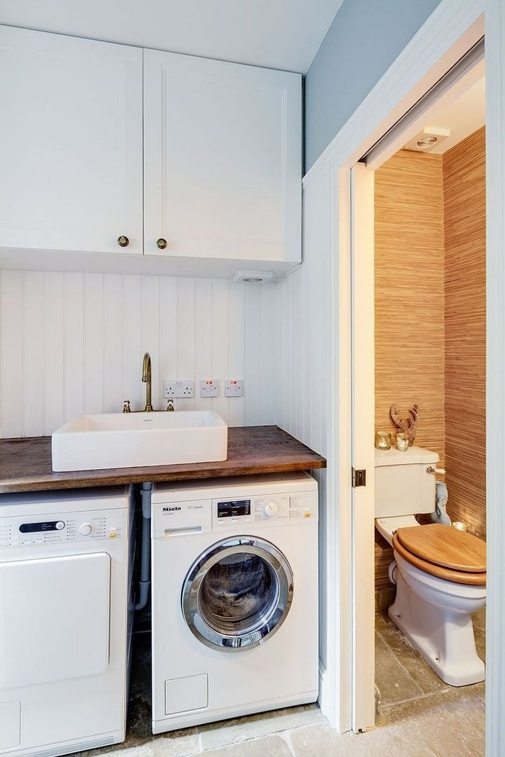 Photo of ✔️ 95 Incredible Small Laundry Room Decoration Ideas 44