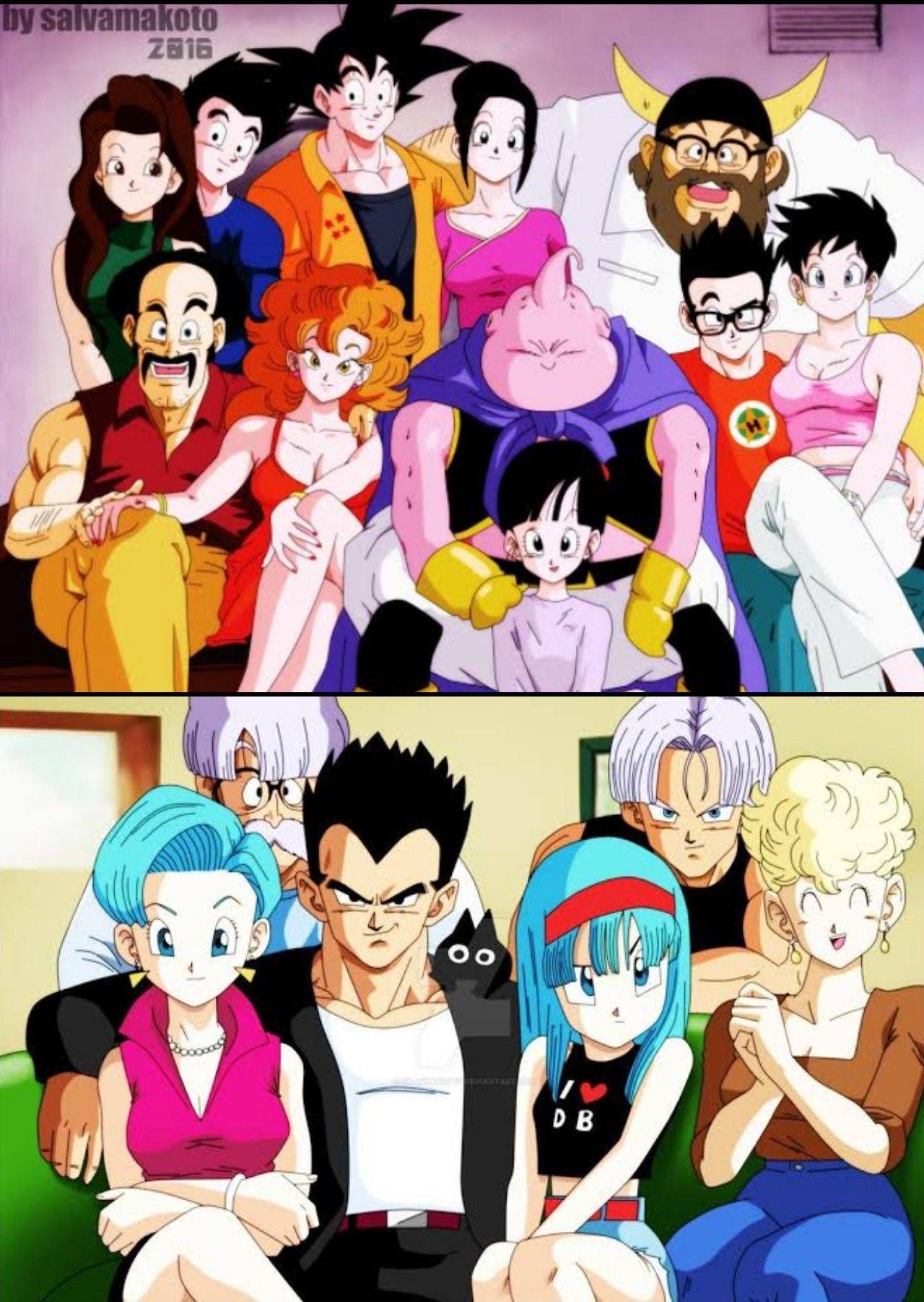 Family Dragon Ball Wallpaper Iphone Anime Dragon Ball Dragon Ball Image