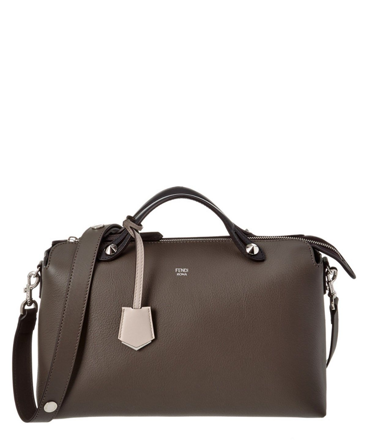 0ee563f9ee07 FENDI FENDI LARGE BY THE WAY LEATHER BOSTON BAG .  fendi  bags  shoulder  bags  hand bags  leather  lining