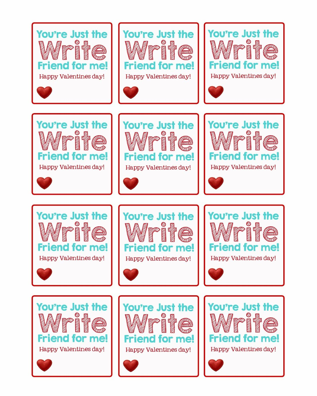 picture relating to Pencil Valentine Printable known as A Pocket complete of LDS prints: Valentine Pencil Toppers - Free of charge