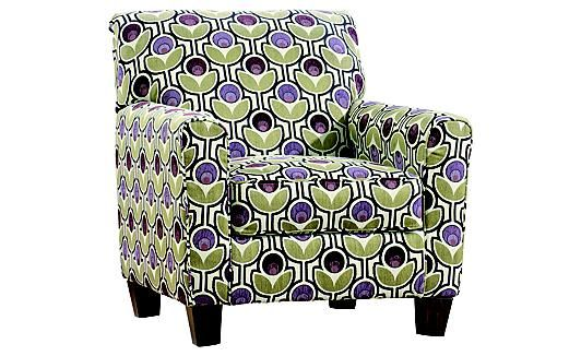 Eggplant Accent Chair Ashley Furniture