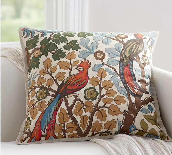 Mayle Bird Pillow Cover New Apartment Furniture Pinterest