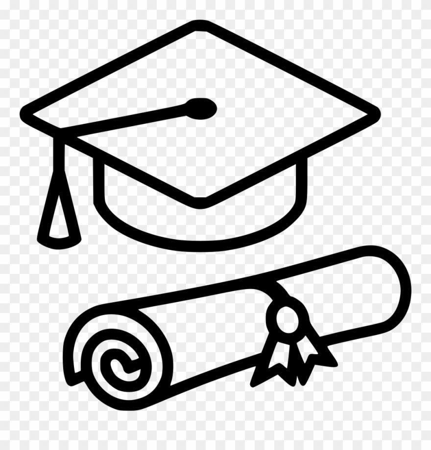 Graduation Cap Svg Png Icon Free Download Graduation Cap Outline Png Clipart Graduation Cap Clipart Printable Designs Free Clip Art