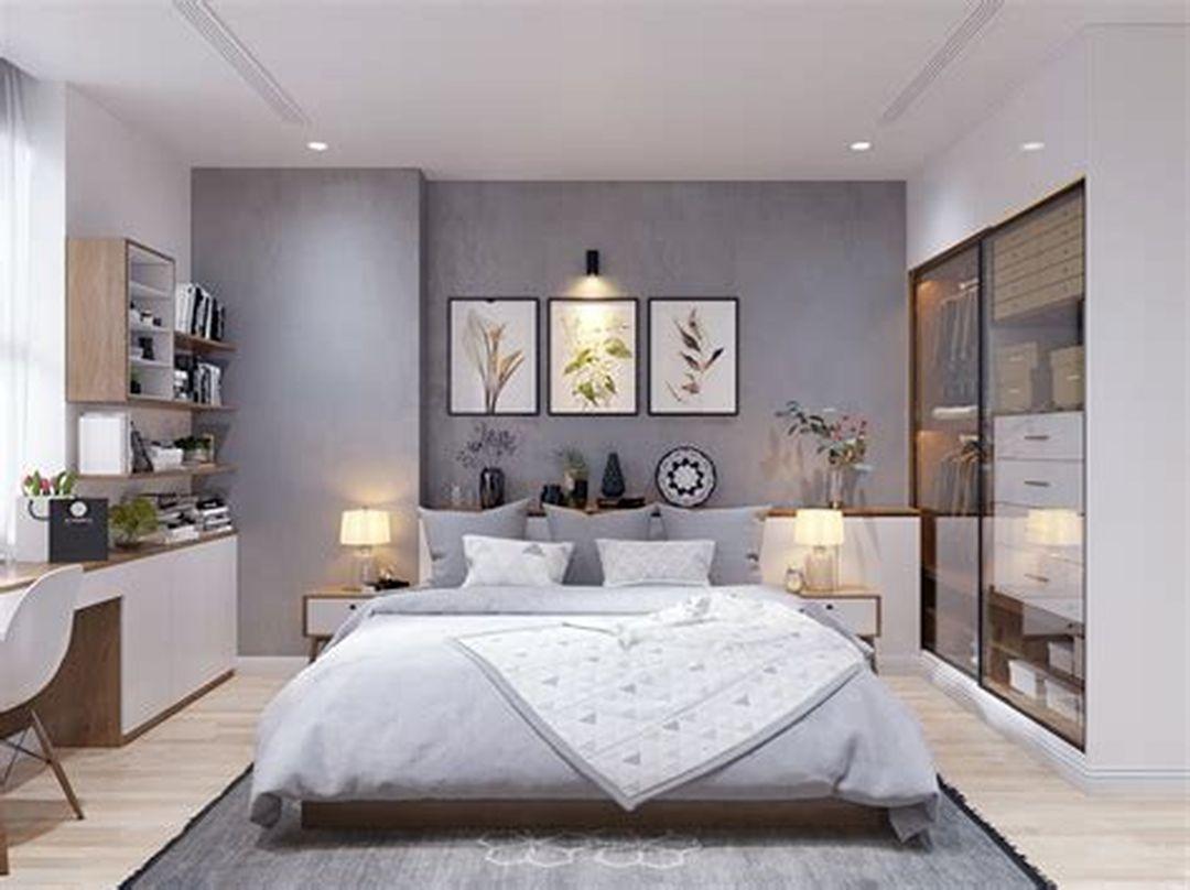 25 Elegant Scandinavian Master Bedroom Design Trends 2018 ...