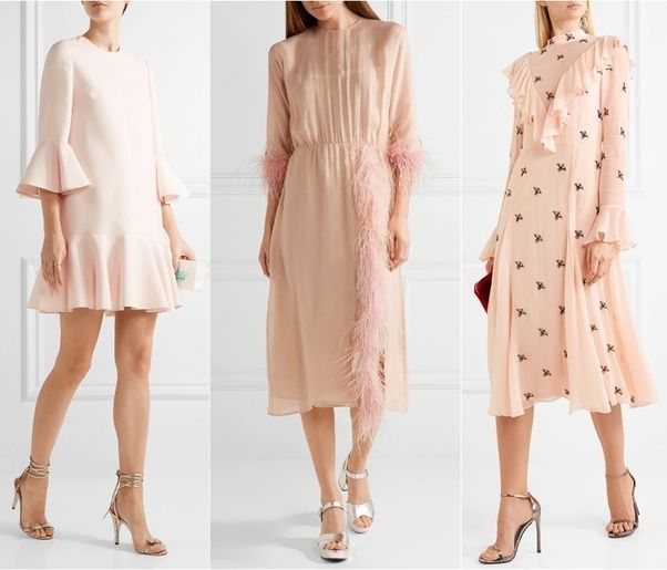 a7c00d28f626 What shoe color goes best with a baby pink dress  - Quora
