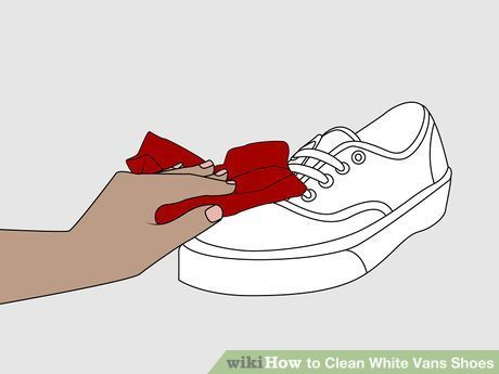 Image titled Clean White Vans Shoes Step 5