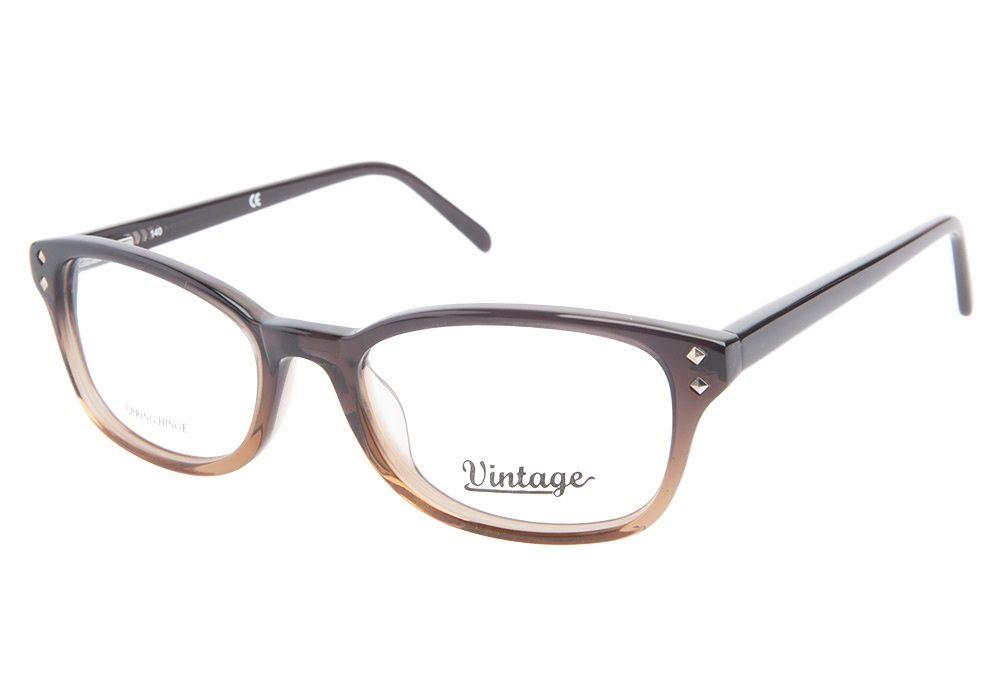 Vintage VN0102 048 Dark Light Brown | Vintage Glasses - Coastal.com ...