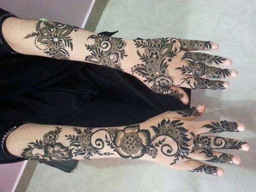 Khaleeji Henna Designs Tattoo: Eid-Beautiful-Khaleeji-Henna-Mehndi-Designs-Hands-2015-UAE