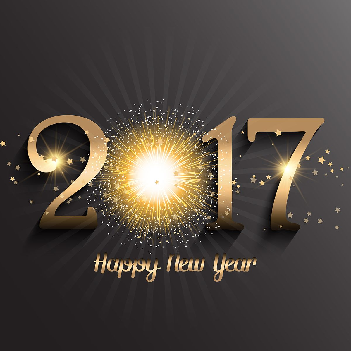 Happy New Year 2017 HD Wallpaper Images Download