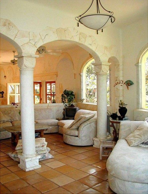Mediterr neo de decoraci n style058 ideas de dise o de - Ideas de decoracion de interiores ...