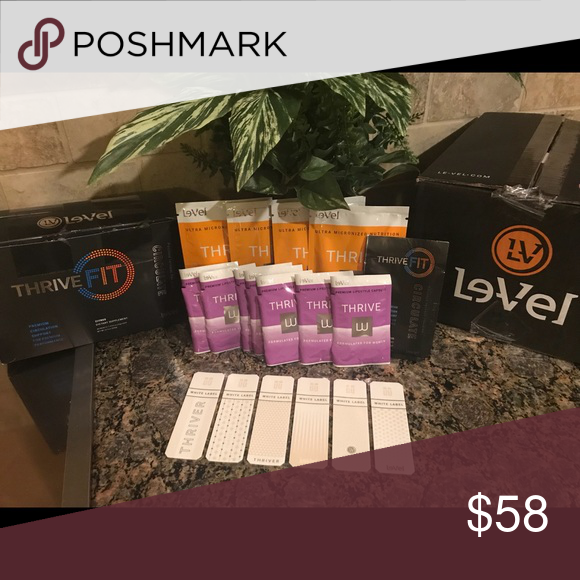 7 Day Sample Thrive By Le-vel! 7 Day Sample! White Label