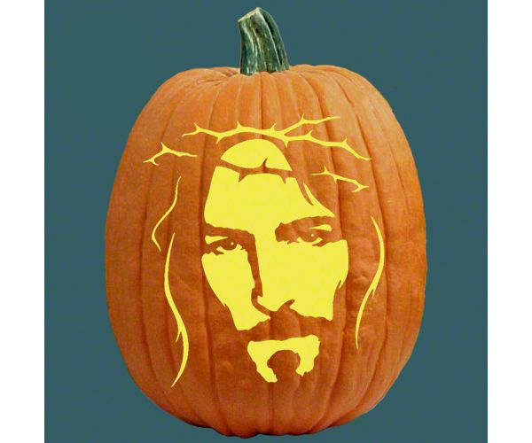 jesus with a crown of thorns craft pumpkin carving patterns rh pinterest com