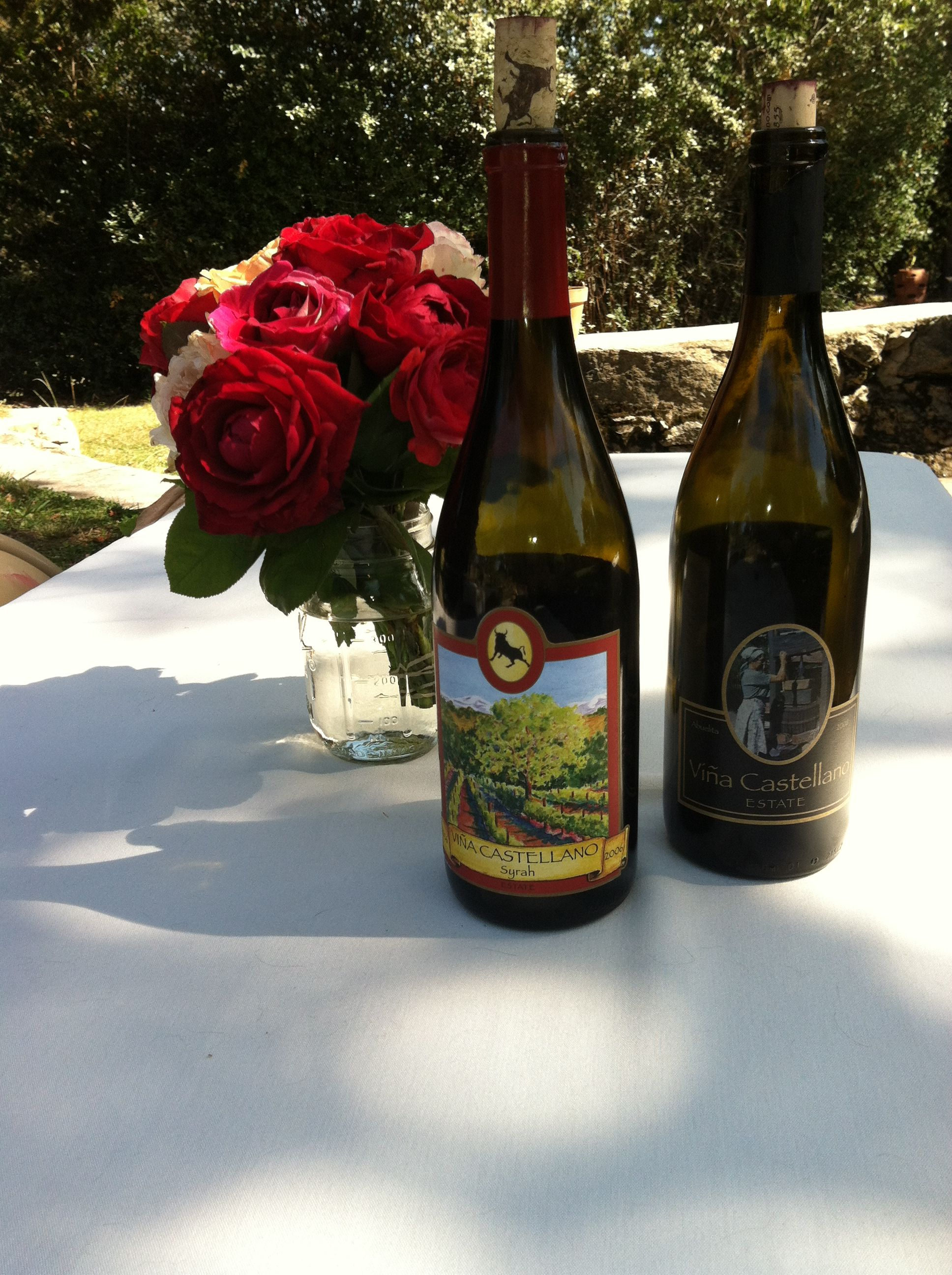 Placer County winery Vina Castellano provided the wine for our Celebrate PlacerGROWN Week Blogger Tour. Cheers!