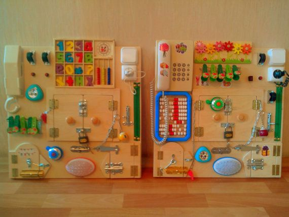 Busy Board Sensory Board Toddler Busy Board By Busyboardolga Baby Sensory Board Busy Board Busy Boards For Toddlers