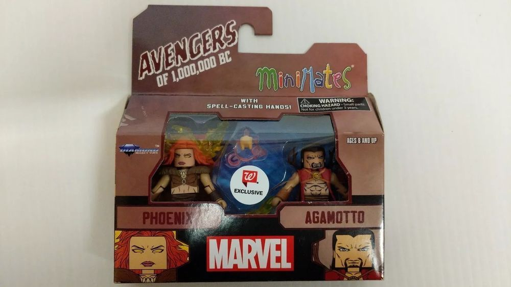 Marvel Minimates Walgreens Avengers of 1,000,000 BC Phoenix