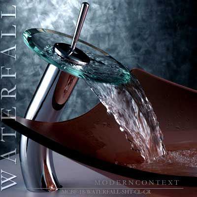 Awesome Websites Cool bathroom sink For the Home Pinterest Waterfall faucet Sinks and Faucet