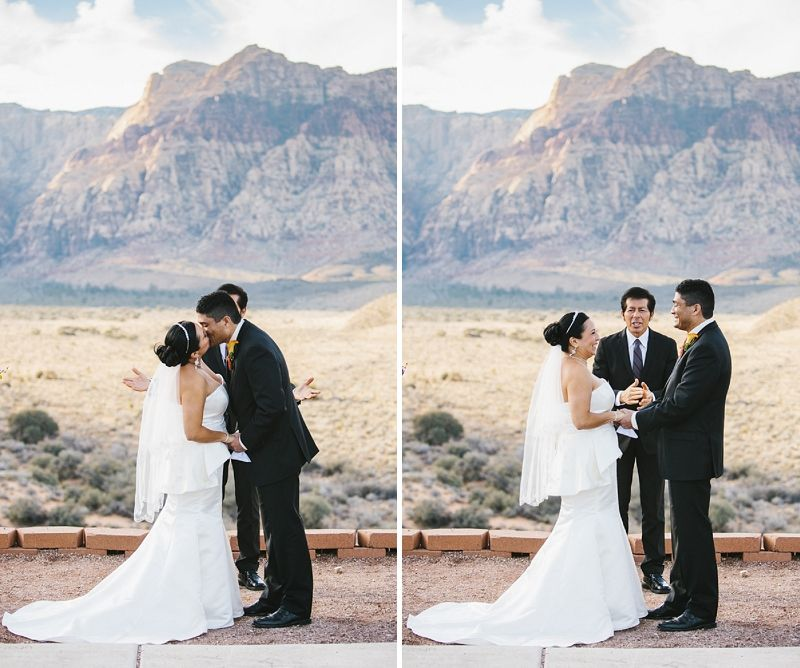 Dedication Overlook At Red Rock Canyon Wedding By Esvy Photography Las Vegas Weddings Real