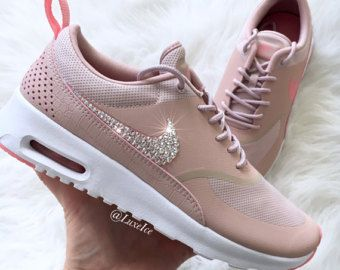 grande vente b8f86 2f840 Nike Air Max 90 Silver customized with SWAROVSKI® by ...
