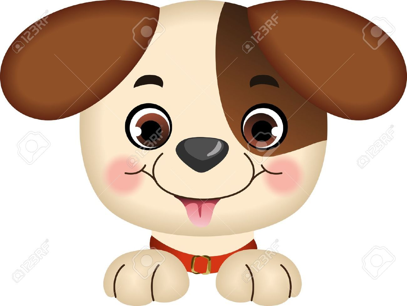Dog Peeking Royalty Free Cliparts, Vectors, And Stock Illustration ...