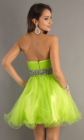 lime green prom dresses under 200 | short lime green prom dresses ...