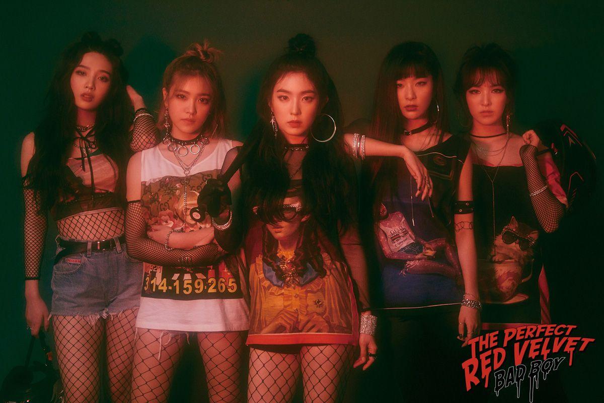 Red Velvet The Perfect Red Velvet Group Photo Teaser Red Velvet Photoshoot Red Velvet Seulgi Red Velvet Irene