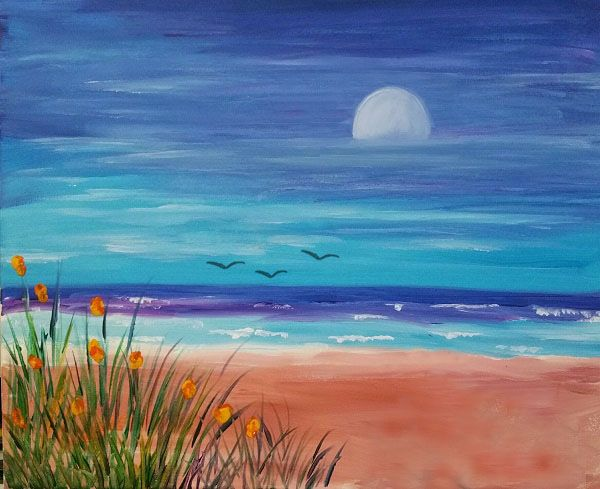 Jersey Shore Paint Party Painting Gallery