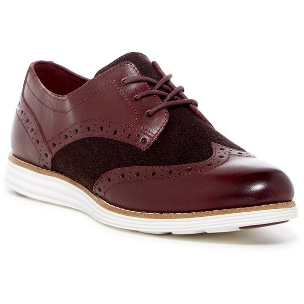 Cole Haan Original Grand Wingtip Oxford (€100) ❤ liked on Polyvore  featuring shoes. Oxford ShoesCole Haan ShoesBerry BerryOxfordsLace Up BerriesWings