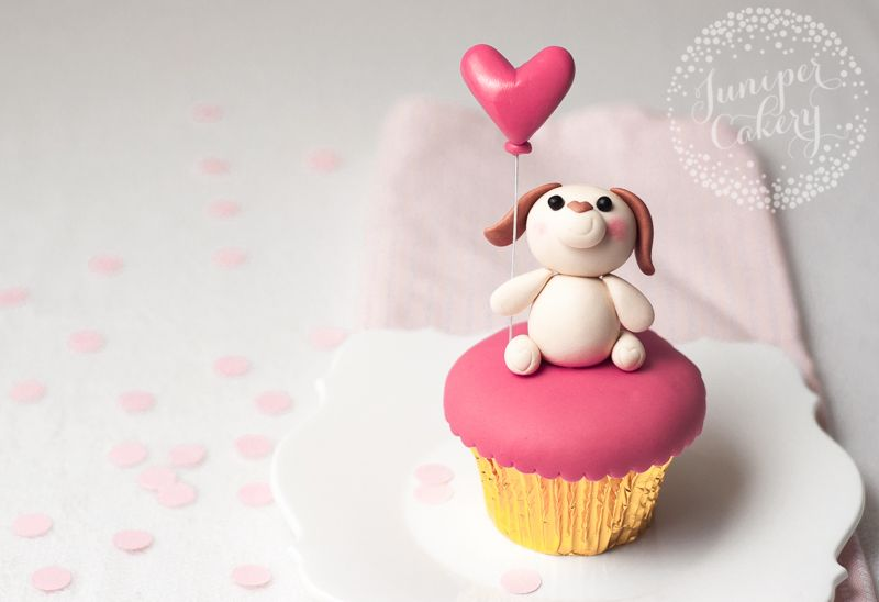 Tutorial Puppy Love Valentine S Day Cupcake Tutorial For Tala