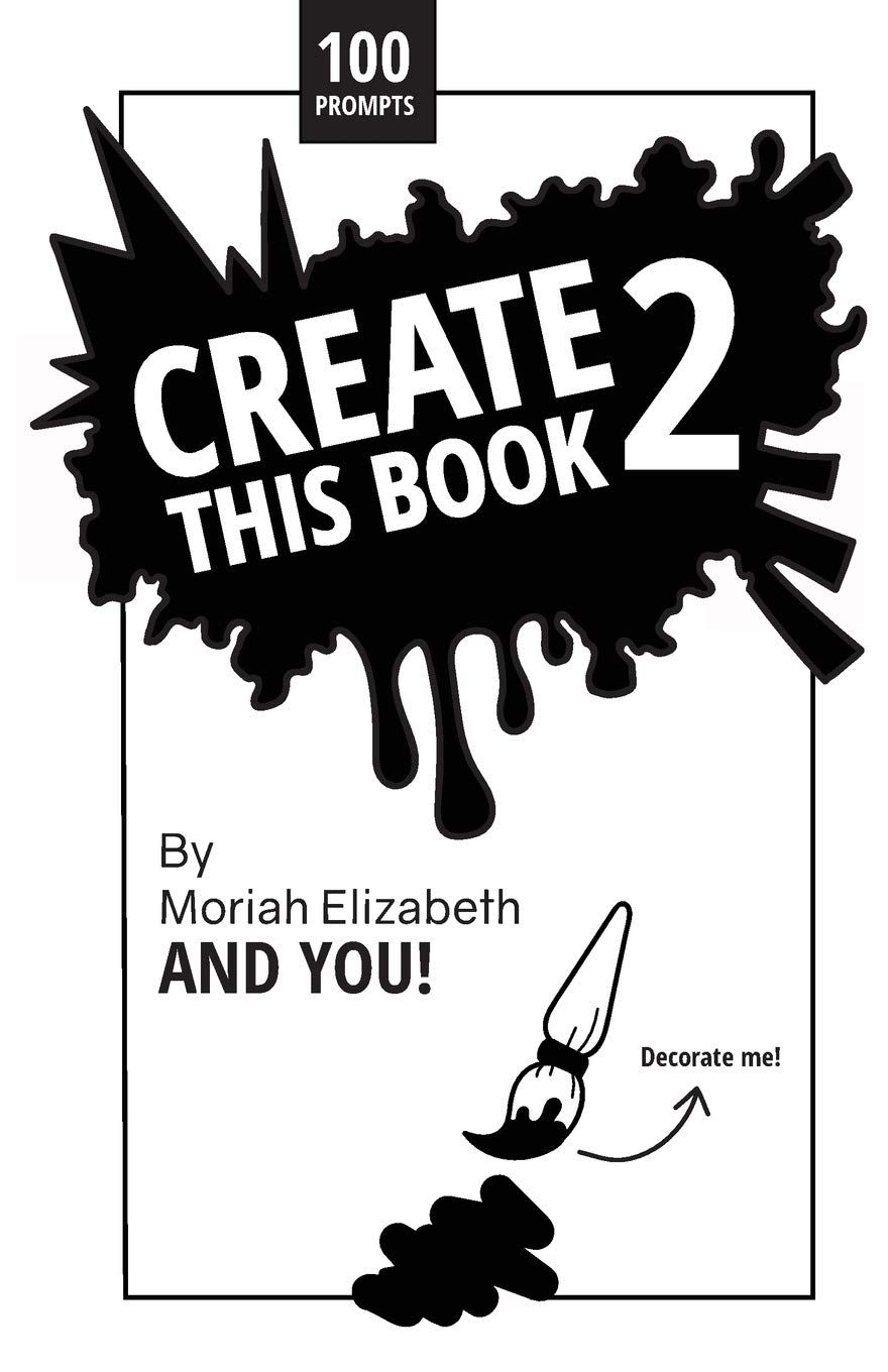 FREE DOWNLOAD Create This Book 2 Volume 2 by Moriah