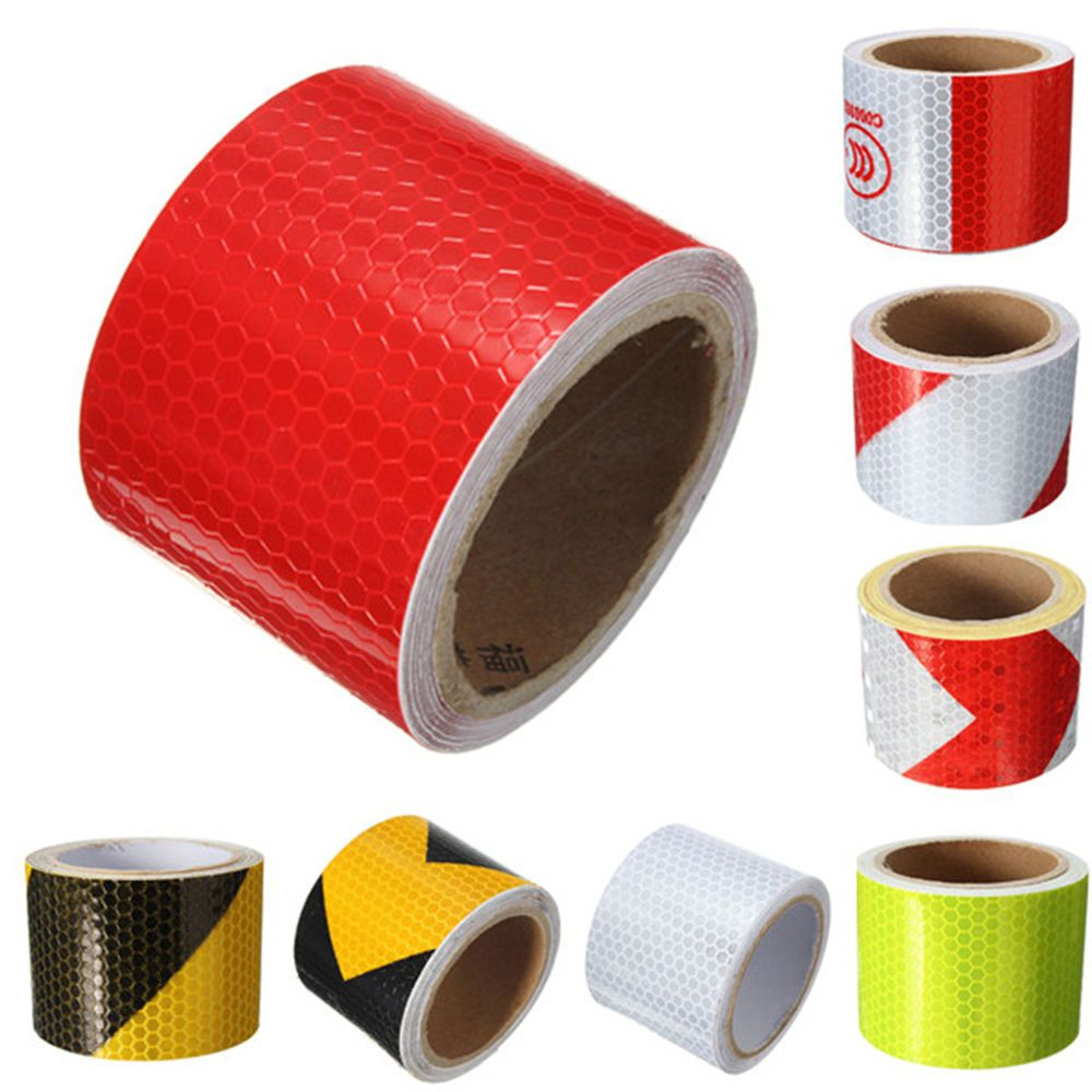 Safety Warning Tape Night Safety Arrow Tape Strip  Conspicuity Sticker