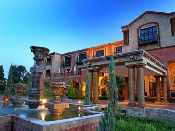 Velmore Hotel Estate - Velmore Estate consists of the Velmore Hotel, a stunning establishment aimed at the affluent luxury market. The property also features a second hotel, the Velmore Grande; the Grande is the ultimate in ... #weekendgetaways #pretoria #southafrica