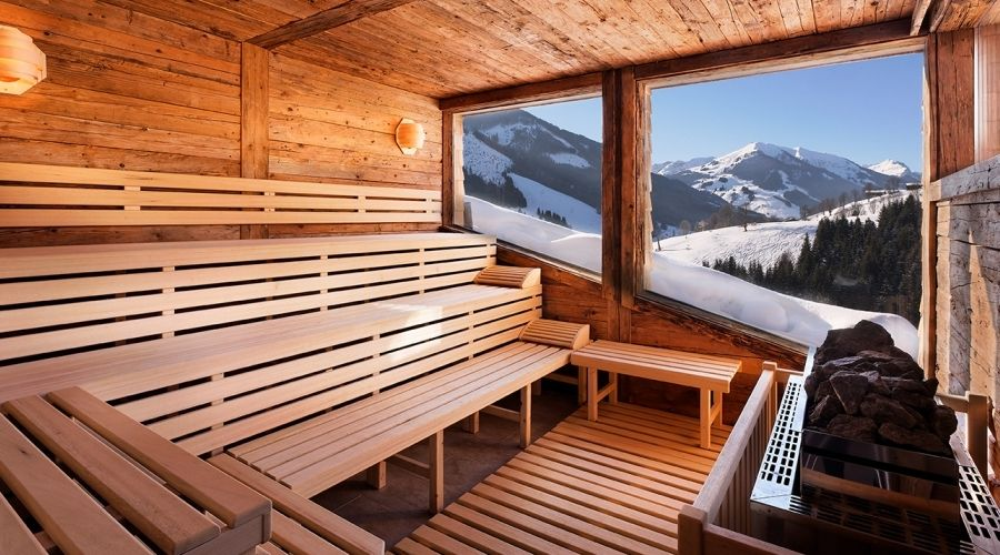 panorama sauna saunas pinterest zuk nftiges haus. Black Bedroom Furniture Sets. Home Design Ideas