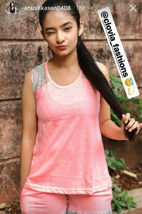 Anushka Sen  Cute Little Girl Dresses, Beautiful Girl -4098