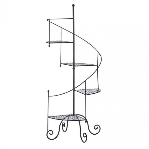 Best Spiral Showcase Plant Stand This Black Iron Plant Stand 400 x 300