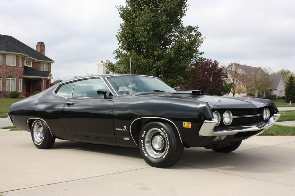 1970 Ford Torino Super Cobra Jet With Images Ford Torino