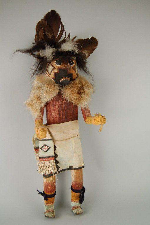 Brooklyn Museum: Arts of the Americas: Kachina Doll (Gamuna)