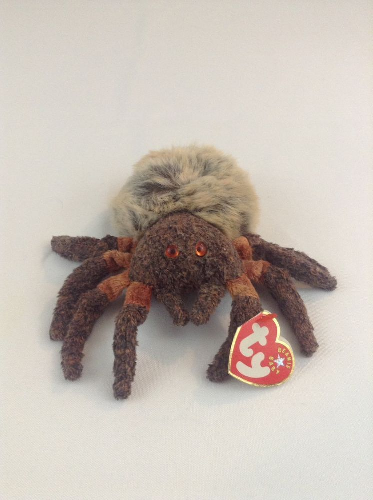 438a3beb39f 2000 Ty Beanie Baby Hairy The Spider Stuffed Plush Animal Toy  Ty   animaltoys