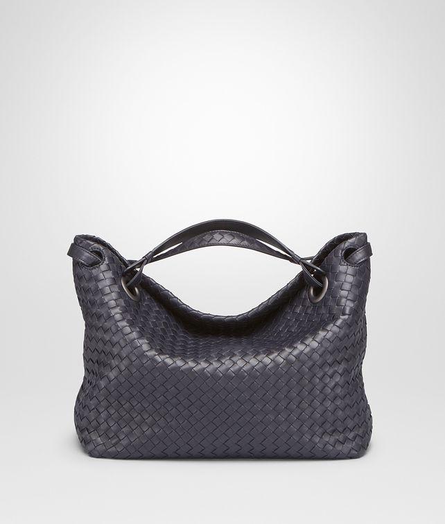 New Light Grey Intrecciato Nappa Bag - Women s Bottega Veneta® Shoulder Or  Hobo Bag - Shop at the Official Online Store be8209cb0fa3b