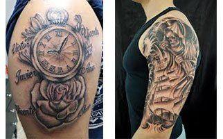 Tatuajes Para Hombres Con Significado En Brazo Bebé Mamá Y Papá