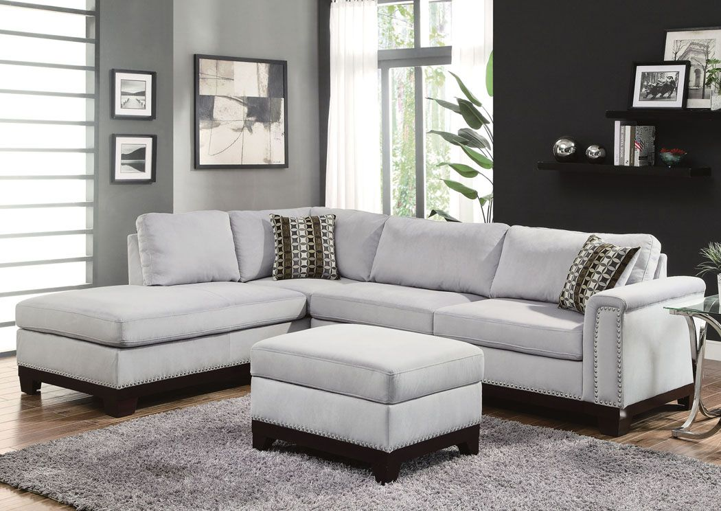 Jennifer Convertibles Sofas Sofa Beds Bedrooms Dining Rooms More Mason Blue Grey Sectional 1319 99