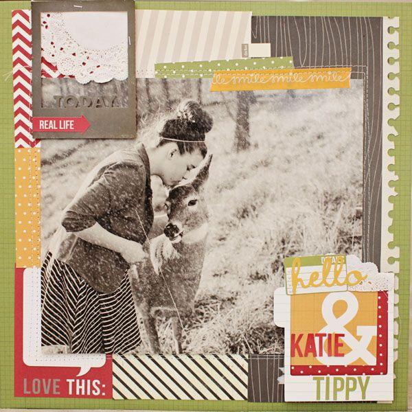 good for mini albums w/ 4x6 pics...Naomi Atkins / Gossamer Blue