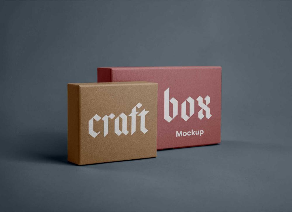 Download Free Craft Paper Square Rectangle Box Packaging Mockup Psd Set Good Mockups Packaging Mockup Box Packaging Paper Crafts