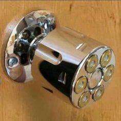 Best door knob | The Manly Cave | Pinterest | Door knobs, Guns and Doors