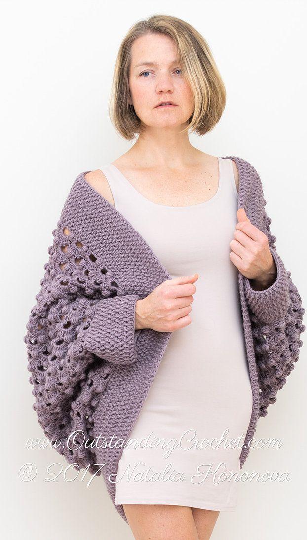 Ash Rose Shrug Crochet Pattern | Crochet apparel | Pinterest | Chaquetas