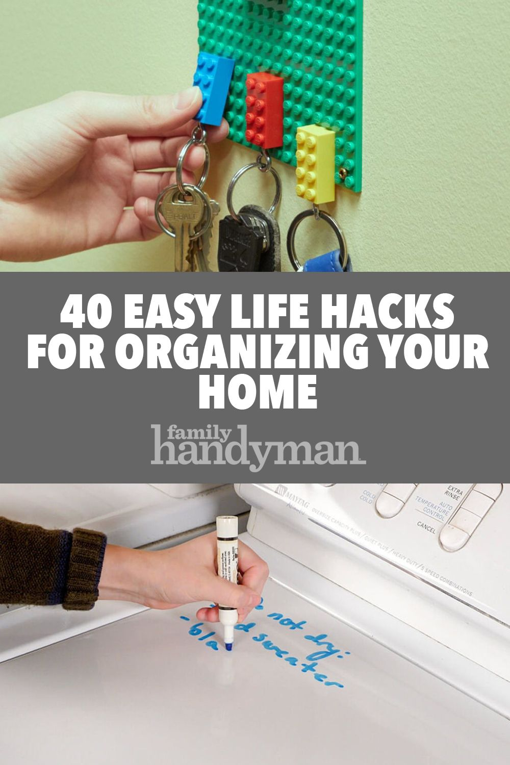 40 Easy Life Hacks For Organizing Your Home Life Hacks Organization Simple Life Hacks Organizing Your Home