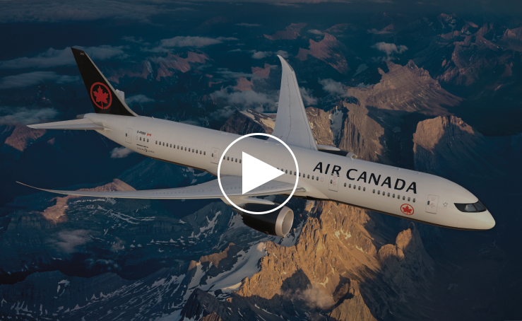 Achieving new heights/ Introducing Air Canada's New Livery