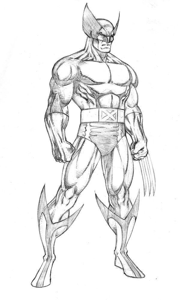 pumpkin idea for wolverine | ART of Marvel | Pinterest | Dibujo ...