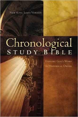 The Chronological Study Bible: New King James Version: Thomas Nelson