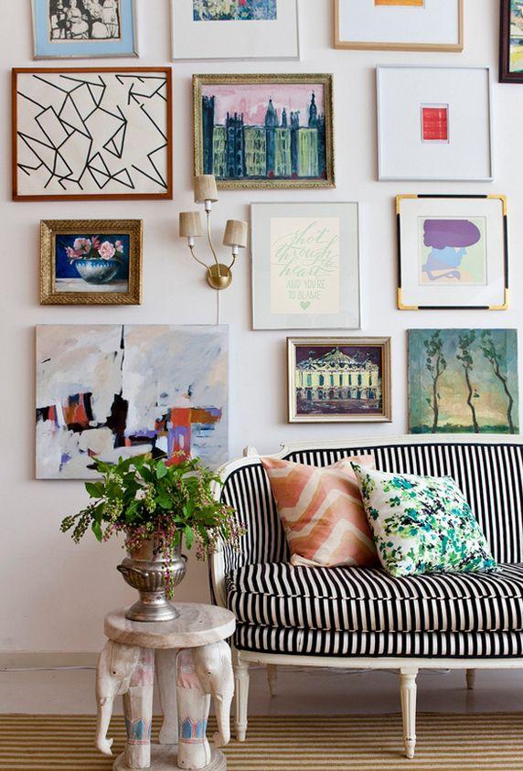 Shot through the heart gallery pinterest haus - Bilderwand wohnzimmer ...