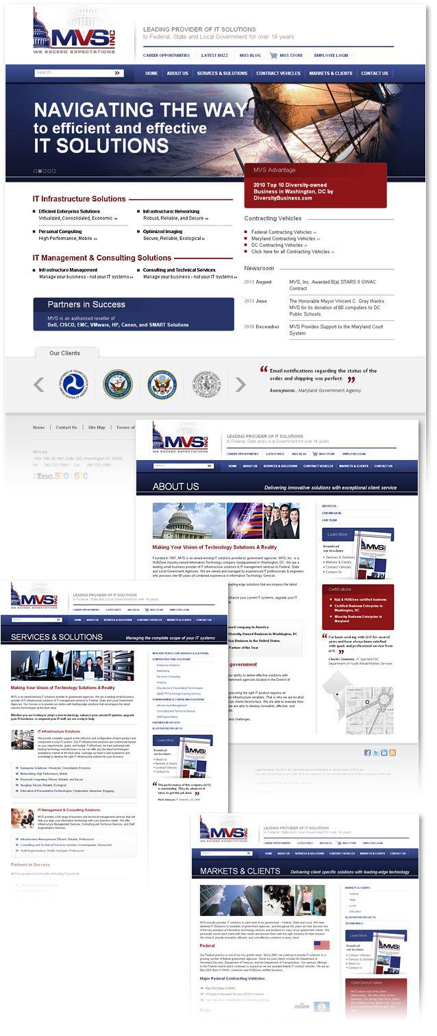Joomla Website Design Website Design Custom Website Design Portfolio Site